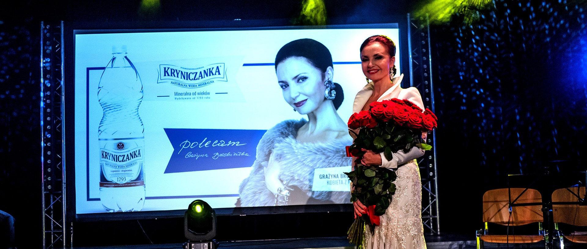 Grażyna Brodzińska - Ambasadorka Kryniczanki